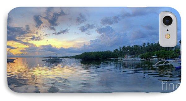 Panglao Port Sunset 11.0 IPhone Case by Yhun Suarez