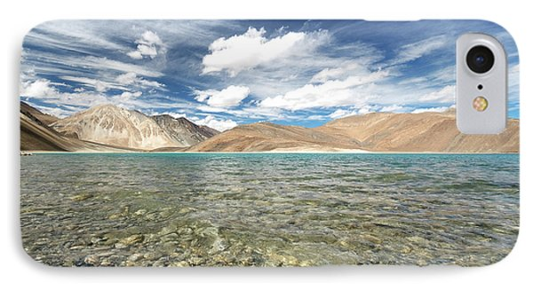 IPhone Case featuring the photograph Pangong Lake  by Yew Kwang