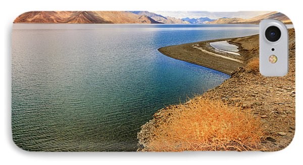 IPhone Case featuring the photograph Pangong Tso Lake by Alexey Stiop