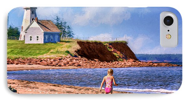Panmure Head - Beach - Pei IPhone Case by Nikolyn McDonald