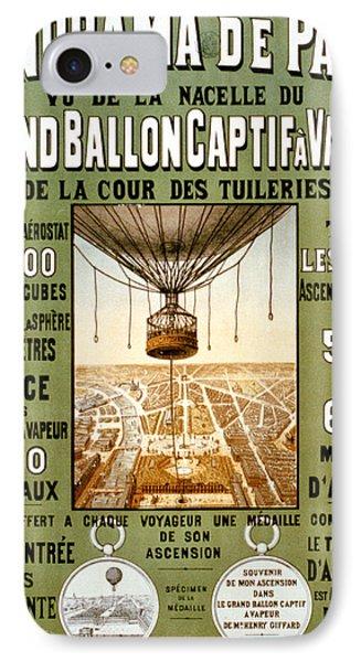Panorama De Paris IPhone Case