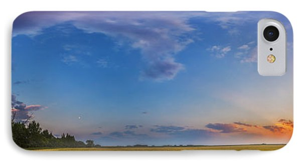 Panorama Of A Colorful Sunset IPhone 7 Case