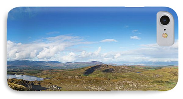 IPhone Case featuring the photograph Panorama Of Ballycullane And Lough Acoose In Ireland by Semmick Photo