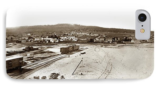 Watkins Panorama Of Monterey, California 1882 Phone Case by California Views Mr Pat Hathaway Archives