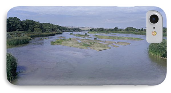 Panorama Of North Platte River, Western IPhone Case
