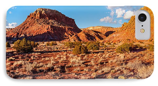Panorama Of O'keefe Country Near Ghost Ranch - Abiquiu Northern New Mexico IPhone Case