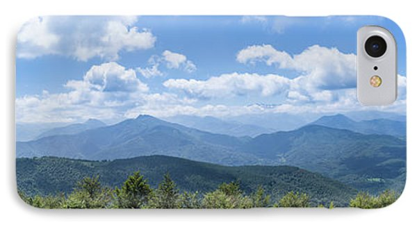 IPhone Case featuring the photograph Panorama Of The Foothills Of The Pyrenees In Biert by Semmick Photo