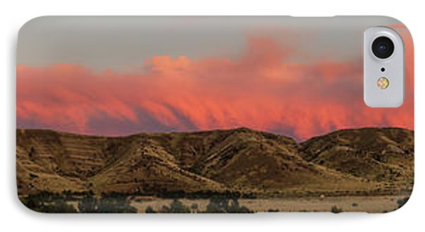 Panoramic Afterglow IPhone Case by Robert Bales