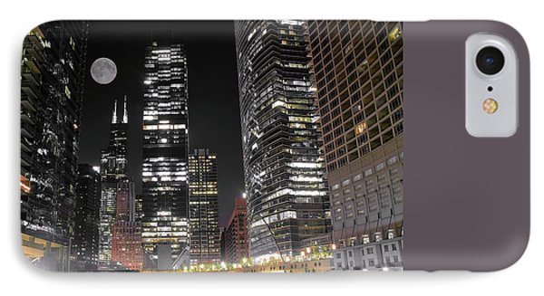 Panoramic Lakefront View In Chicago IPhone Case by Frozen in Time Fine Art Photography