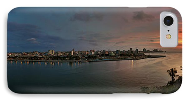 Panoramic View Of Havana From La Cabana. Cuba IPhone Case