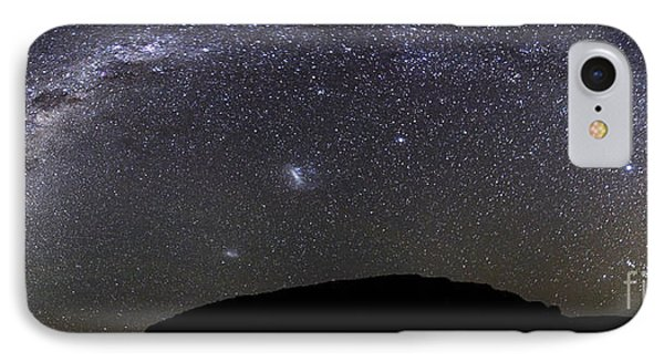 Panoramic View Of The Milky Way Phone Case by Luis Argerich