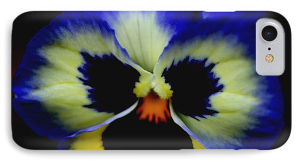 Pansy Face IPhone Case by Smilin Eyes  Treasures