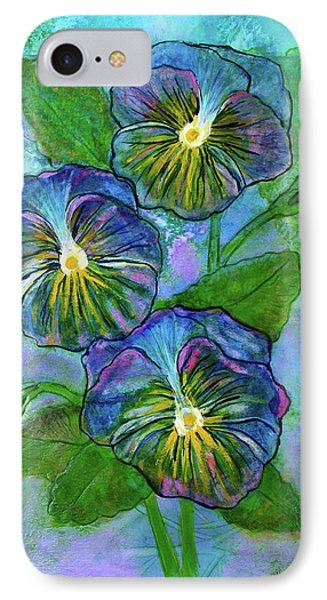 Pansy On Water IPhone Case
