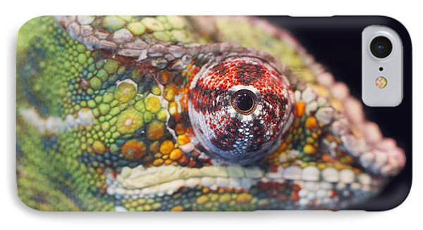 IPhone Case featuring the photograph Panther Chameleon  by Nathan Rupert