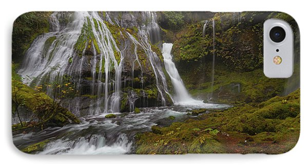 Panther Creek Falls In Autumn Phone Case by David Gn