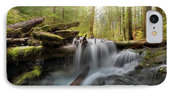 Panther Creek In Gifford Pinchot National Forest Phone Case by David Gn