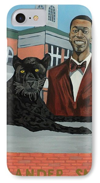 Panther Pride IPhone Case by Angelo Thomas