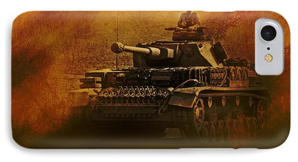 Panzer 4 Ausf G IPhone Case by John Wills