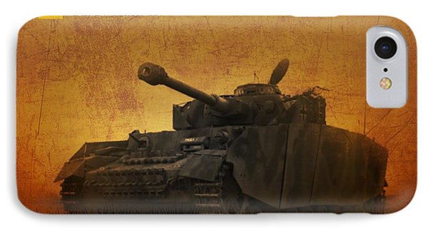 Panzer 4 Ausf H IPhone Case by John Wills