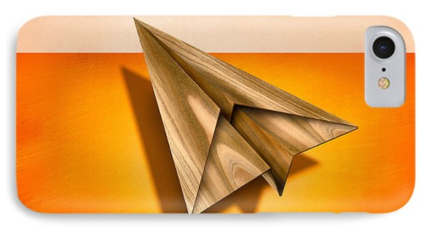 Paper Airplanes Of Wood 18 IPhone Case by YoPedro