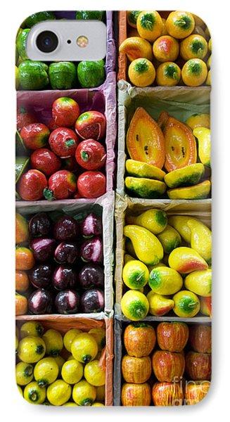 Paper Mache Fruits Phone Case by Gloria & Richard Maschmeyer - Printscapes