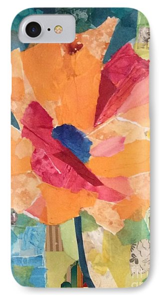 Paper Poppy IPhone Case by Barbara Tibbets