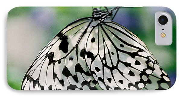 IPhone Case featuring the photograph Paper Rice Butterfly by Donna Brown