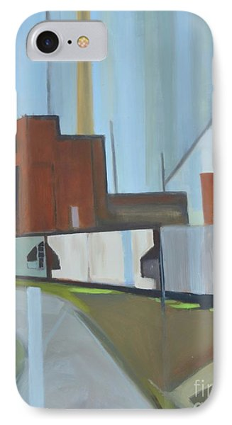 Paperboard Factory Bogota Nj IPhone Case by Ron Erickson