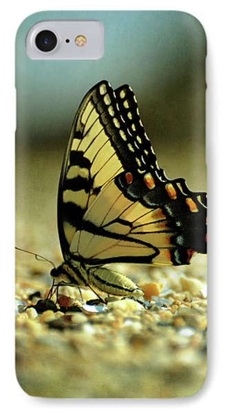 Papilio Glaucus Eastern Tiger Swallowtail IPhone Case by Rebecca Sherman