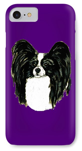 Papillon IPhone Case by Kathleen Sepulveda