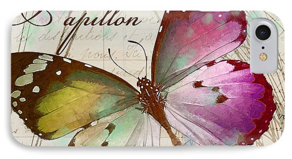 Papillon Pink IPhone Case