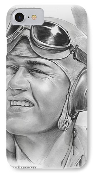 Pappy Boyington IPhone Case by Greg Joens