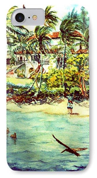 Paradise At Dorado Puerto Rico Phone Case by Estela Robles