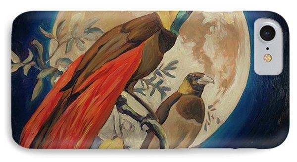 Paradise Birds IPhone Case by Nop Briex