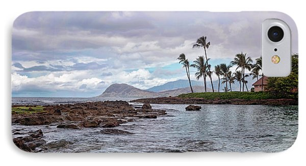 IPhone Case featuring the photograph Paradise Cove Lagoon by Heather Applegate