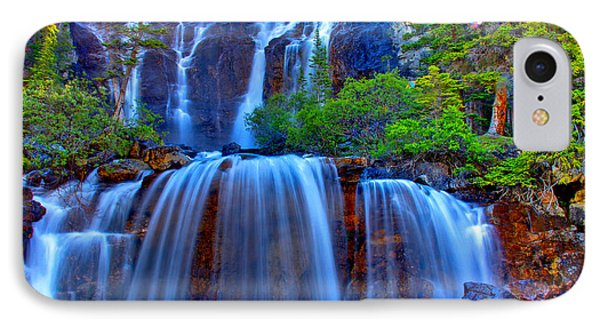 Paradise Falls IPhone Case by Scott Mahon