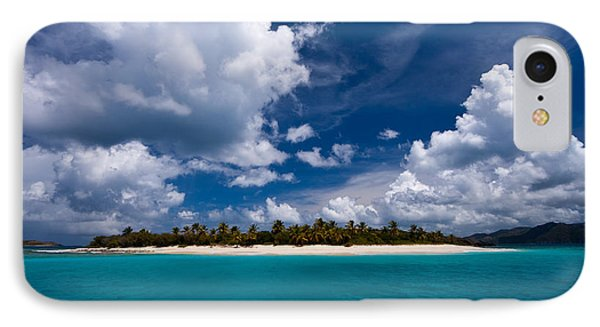 Paradise Is Sandy Cay IPhone Case by Adam Romanowicz