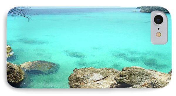 IPhone Case featuring the photograph Paradise Island, Curacao by Kurt Van Wagner