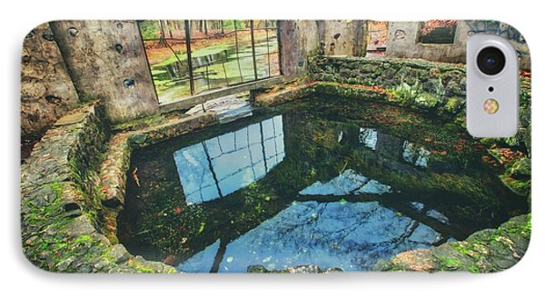 Paradise Springs- Spring House - Kettle Moraine State Forest IPhone Case by Jennifer Rondinelli Reilly - Fine Art Photography