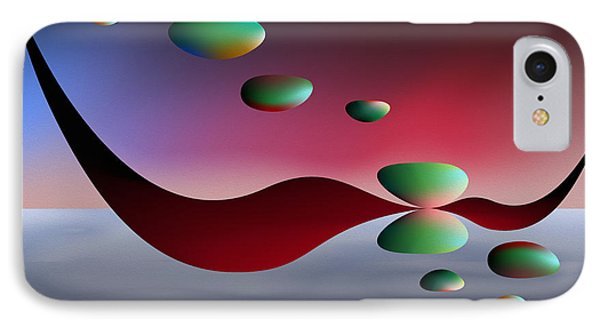 IPhone Case featuring the digital art Parallel Lives by Leo Symon