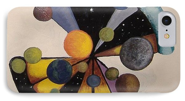 Parallel  Universe IPhone Case by Steve  Hester