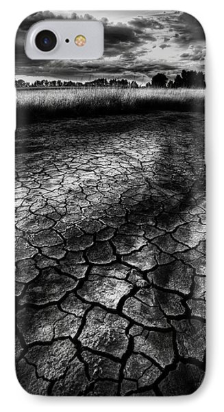IPhone Case featuring the photograph Parched Prairie by Dan Jurak