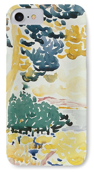Pardigon IPhone Case by Henri-Edmond Cross