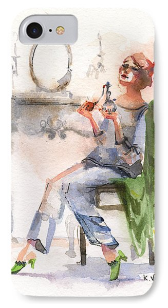 Parfum IPhone Case by Kristina Vardazaryan