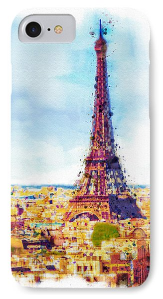 Paris Aerial View IPhone Case