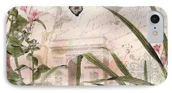 Paris Afternoon IPhone Case by Mindy Sommers