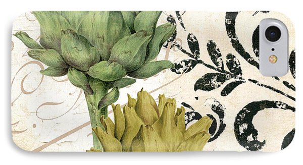 Paris Artichokes IPhone 7 Case by Mindy Sommers