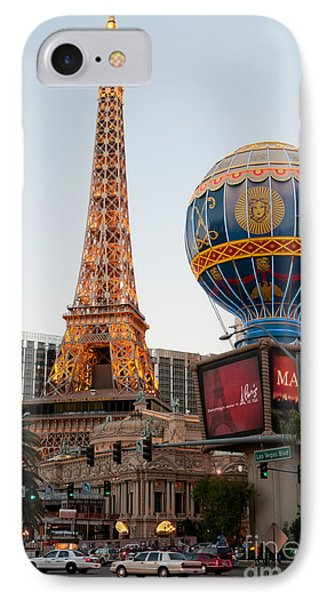 Paris At Dusk Phone Case by Andy Smy