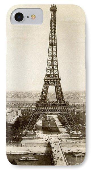 Paris: Eiffel Tower, 1900 Phone Case by Granger