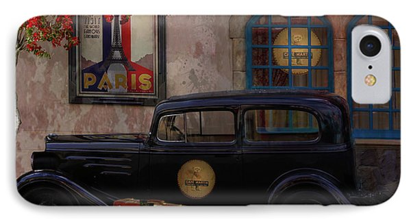 Paris In Spring IPhone Case by Jeff Burgess